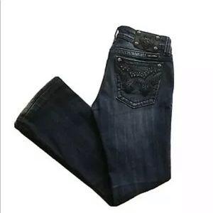 Miss Me Bootcut Embellished Stretch Denim Jeans